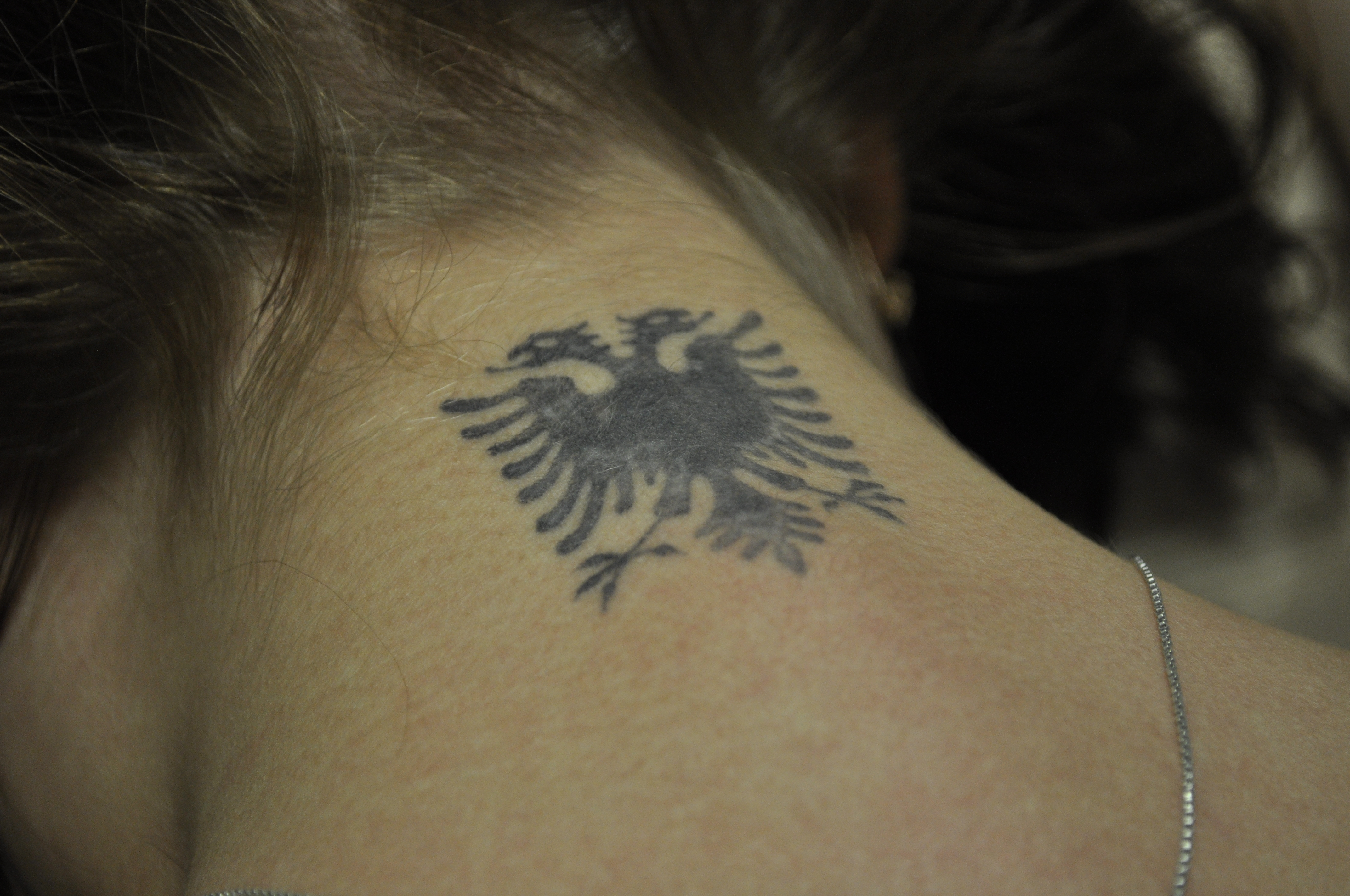 albanian flag tattoo pictures to pin on pinterest tattooskid. Black Bedroom Furniture Sets. Home Design Ideas